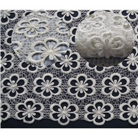 Guipure lace fabric wholesale for wedding dress