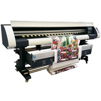50m2/h High speed Digital Printing Machine Large Format Printer with Epson 5113 Printhead 1.8m