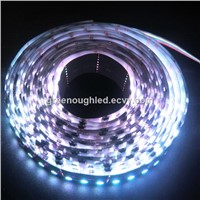IP67 Digital LED Strip Light/ RGB LED Cabinet Strip Light 9W WS2801IC
