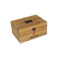 Wooden Medicine Storage Box