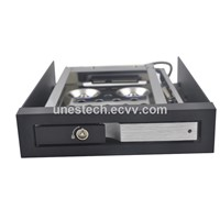 2.5in Single Bay Unestech Anti-Vibration proof Sata Hdd Mobile Rack hdd caddy