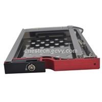 2.5in single bay SATA Aluminumcase hdd mobiel rack