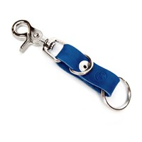 Promotional key chain home use car leather keychain universal custom genuine keyring wholesale