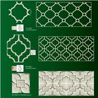 ceiling tiles & wall mouldings