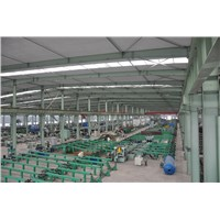 Automatic steel pipe packing machine