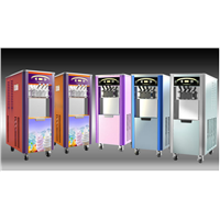Taycool Colorful soft  ice cream machine