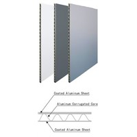 cheap good corrugated aluminum composite panel