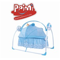 PPIMI Electric Baby Rocking Bed Soothing Motions Cradle