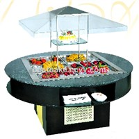 Salad Bar Refrigerant / Round Type Salad Type