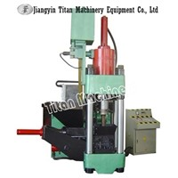 copper aluminum chips briquetting press machine compactor