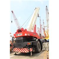 USED ORIGINAL 50 TON TADANO TR500EX ROUGH TERRAIN MOBILE CRANE FOR SALE
