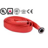 export-oriented PU fire proof flexible hose,soft Low temperature resistant hose woven in plain
