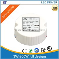 9W 120AC -DC Constant Current LED Driver with triac dimmer, dimmable LED Driver