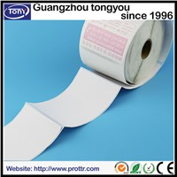 Custom self adhesive labels in roll barcode label