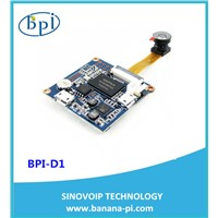 Open-source development board banana pi ip camera