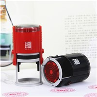 Wholesale Stamp Printer Round 40MM School Supplies Self inking Ruber Stamps for Teachers