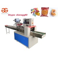 Automatic Horizontal Biscuit Packaging Machine, Noodle Packing Machine For Sale