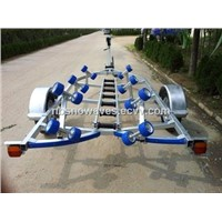 Boat Trailer Solid Round Axle without Brake