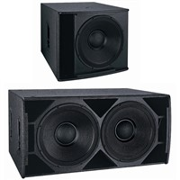 indoor outdoor subwoofer plywood bass sound equipment