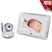 2.4ghz wireless 7'' TFT LCD baby monitor