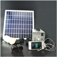 30W home solar panel power generator for lighting and charging