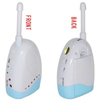 Audio Baby Monitor - with Temperature/Bedwetting Alarm, Wireless and Portable