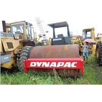 USED ORIGINAL DYNAPAC CA25D ROAD ROLLER, ROAD ROLLER FOR SALE
