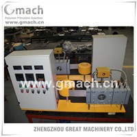 Automatic screen changer mesh belt for plastic extruder