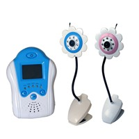5.8Ghz Digital 4 CH Wireless Baby Monitor with 1.8 inch LCD