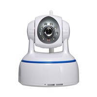 1.0 Mega Plug and Play indoor PTZ IP Camera with 1.0 Mega pixels CMOS lens