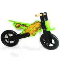 Wooden Kids balance Bicycle Children bike