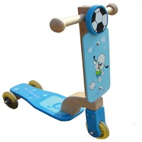 Wooden Kids Bicycle Scooter