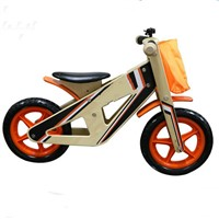 Children Wooden Balance Bike Bicycle