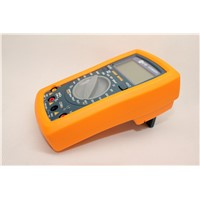 Full protection DMM Digital multimeter VC9802A+ Voltmeter Ammeter Capacitance Phase tester