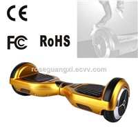 6.5 Inch Smart Electric Scooters Electric Scooter for Kids with Bumper Strip Segway Balance Scooter