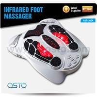 New electric tens foot massager with roller and remote control AST-300A