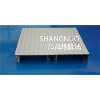Skirting board / aluminum skirting board/ floor skirting