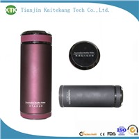 fancy classical tourmaline hot water bottle/tea filter water bottle