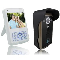 3.5 inch 1 Camera & 3 Monitors Wireless Video Door Phone
