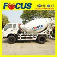 LHD or RHD 3m3, 4m3 mini concrete truck mixer, concrete mixer truck
