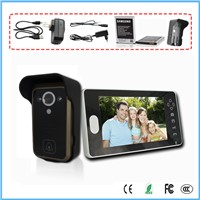7'' TFT LCD wireless video door phone intelligent  system