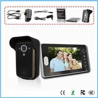 7'' TFT LCD wireless video door phone intelligent  system