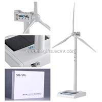 Plastic Solar Wind Generator Model