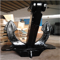 China supplier marine anchor,hall type anchor