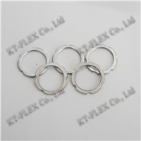 EMT nickel plated brass NPT thread pipe locknut