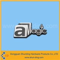 Factory  custom  high  quality   metal   embossing  logo   nameplate