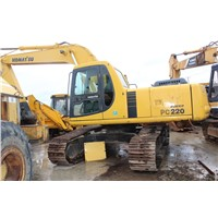 USED ORIGINAL KOMATSU PC200-6 EXCAVATOR/USED CRAWLER EXCAVATOR FOR SALE