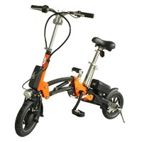 Women good use folding electric bike
