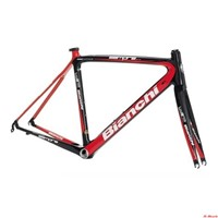 BIANCHI SEMPRE PRO Full Carbon Fiber Road Bicycle Bike Frameset Frame/Fork/Clamp/Headset