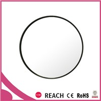 20x magnifying round wall mount shaving mirror with suction cups
